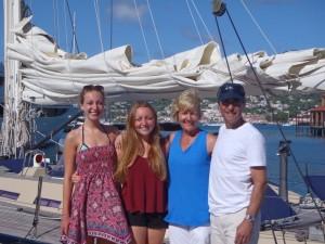 Ken, Janie, Carolyn & Alexandra - Toronto Canada