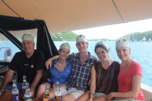 Lily, Hannah, Daniel, Cecile & Kirk Family from New York - USA