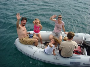 Nicola, Matteo, Ally & Loulou – Surrey UK