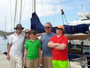 Pacific Wave BVI Crewed Yacht Charter O'Connor Family 17.03.19