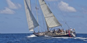 Pacific Wave sailing in the BVI