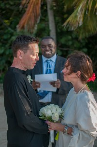 Pastor Ricketts Renewal of Wedding Vows Pacific Wave Guests BVI