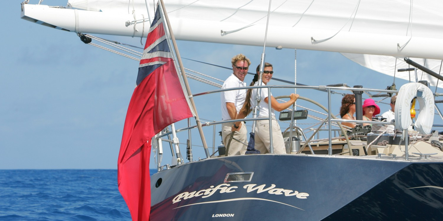 SY Pacific Wave Crew Sailing