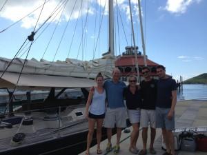 Stephanie, Charlie, Angus, Cordelia & Asa – Boston USA