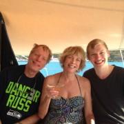 Terri, Charlie & Tom – Seattle USA