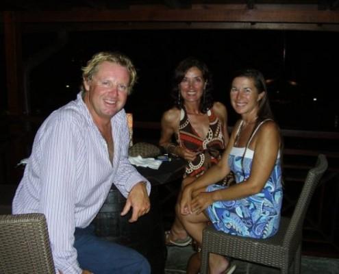 Lynn Griffiths and Mark Miles