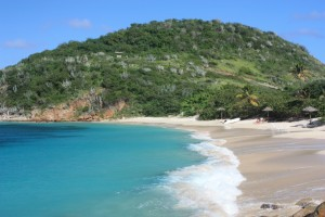 One of Peter Islands Stunning Beaches