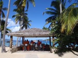 Sunday Lunch Deadmans Beach Peter Island BVI