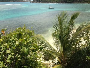 Cam Bay Beach - Great Camanoe Island BVI