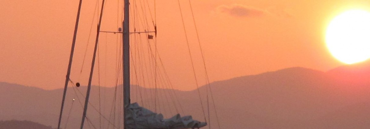 Pacific Wave sunset Cooper Island BVI