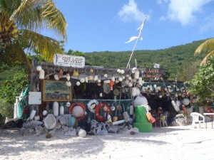 One Love Bar White Bay JVD British Virgin Islands