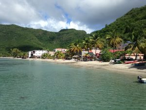 Anse d'Arlet Martinique onboard Pacific Wave