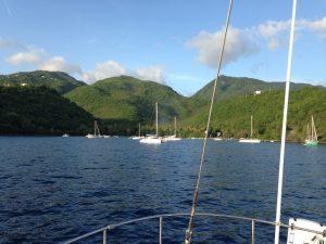 Anse de la Barque Guadeloupe onboard Pacific Wave