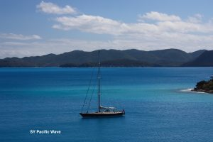 Pacific Wave anchored off JVD BVI