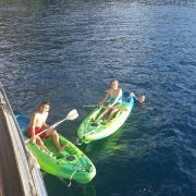 Kids love kayaking from Pacific Wave