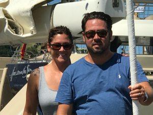 Pacific Wave Grenadines Honeymoon Charter Andrew and Brooke