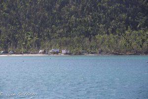 Demolishing the hurricane damaged buildings on Maho Beach St John