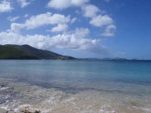 Quiet Anchorages after the storms Francis Bay St John