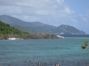 Shipwrecks in Mary Creek and Anna Point St John