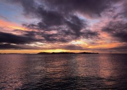 New Years Eve Sunset from Pacific Wave Virgin Gorda