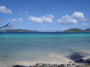 Views from Annaberg Point St John of Great Thatch and Little Thatch BVI