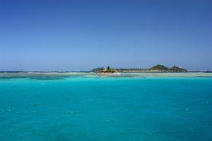 Happy Island off Union Island SVG