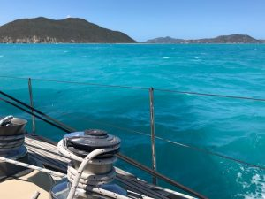 Views from Pacific Wave sailing in the BVI