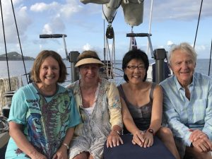 Suzanne, Helen,Jean & John Pacific Wave Grenadines Yacht Charter