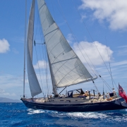Sailing in the BVI onboard SY Pacific Wave