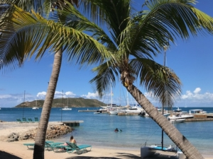Leverick Bay BVI with SY Pacific Wave