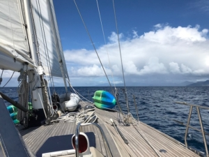 Sailing the Grenadines on Pacific Wave